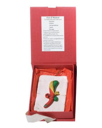 carte napoletane portafortuna- asso di bastoni