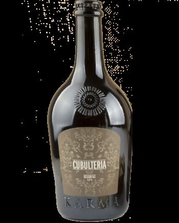 """Da Caffè di Pulcinella disponibile anche labirre artigianale """"Cubulteria"""" Karma."""