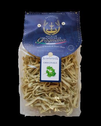 Scialatielli L'originale, pasta di Gragnano| Caffè di pulcinella | Prodotti