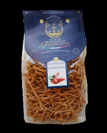 Scialatielli al peperoncino| Caffè di pulcinella | Prodotti