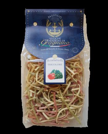 Scialatielli tricolore| Caffè di pulcinella | Prodotti