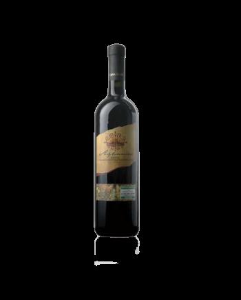 Aglianico del Sannio DOC tra i vini di Caffè di Pulcinella. Prodotto da uve dei cloni (Aglianico del Vulture e Aglianico del Taburno).