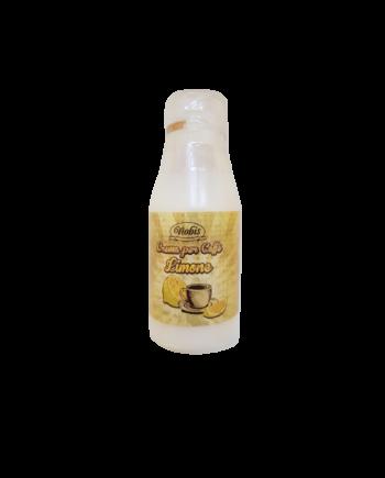 Crema per caffè al limone