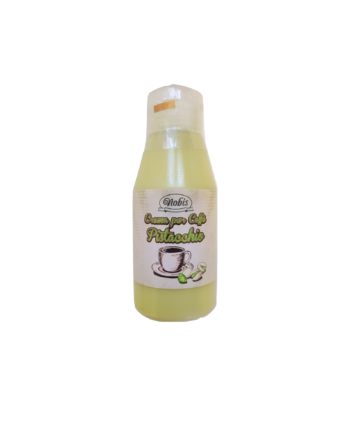 Topping Nobis -Crema per caffè, gusto pistacchio– 120 gr.