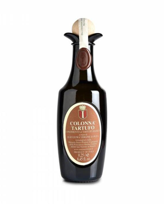 Il tartufo, insieme all'olio, rappresenta uno dei prodotti di eccellenza del Molise. Proprio per questo nasce il Tartufo Colonna, una combinazione di extravergine aziendale ed aroma naturale di tartufo bianco molisano