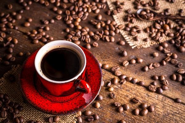 Una tazza di buon caffè napoletano